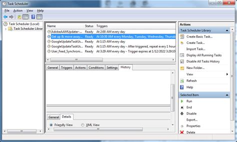 how to schedule a task in windows how to use task scheduler to create a repeating alarm during the day in windows 7 next of windows