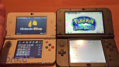 Nintendo 3ds Reguler vergleich new nintendo 3ds vs new 3ds xl on
