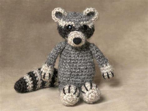 amigurumi raccoon pattern free crochet raccoon pattern by sonja vd wijk craftsy