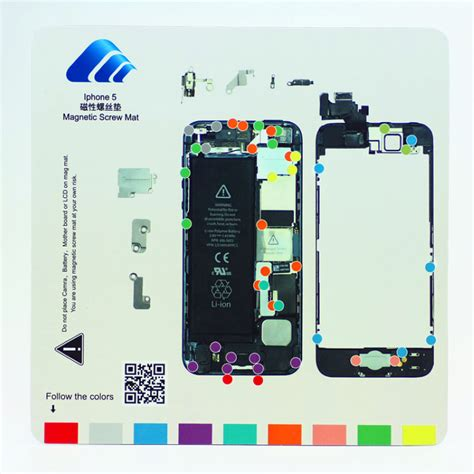 repair tools guide pad magnetic keeper chart mat for iphone 7 plus 6s 6 5s ebay