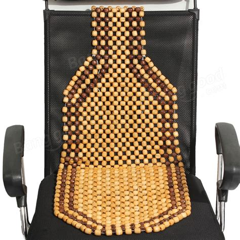 beaded seat cover beaded wooden front seat chair cover cushion car