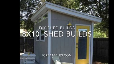 How To Build A 8×10 Shed