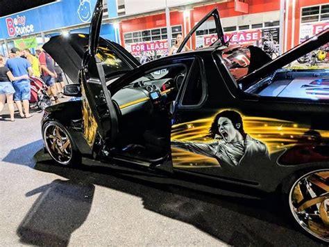 Auto Michel by Michael Jackson Tribute Car Michaeljackson Scissordoors