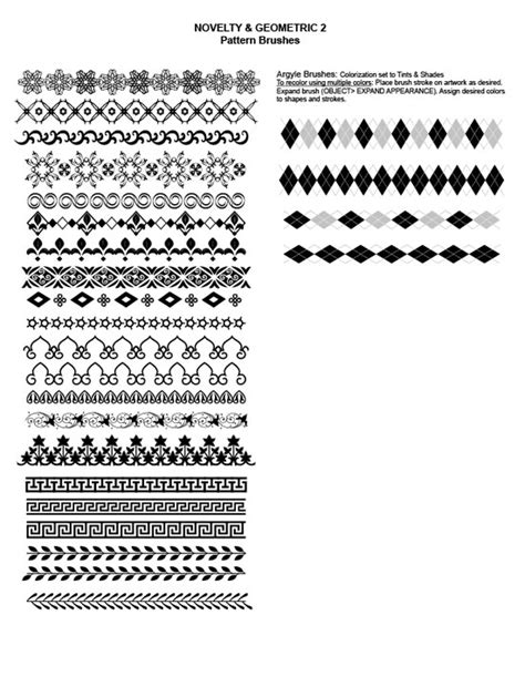 adobe illustrator create pattern brush adobe illustrator brushes my practical skills my