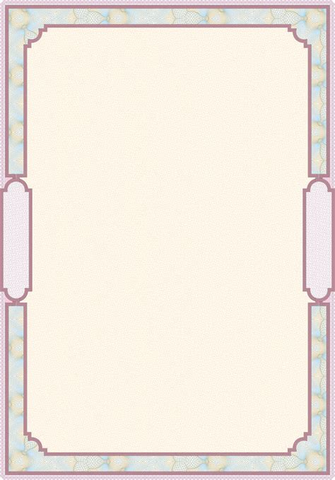 security paper pattern vector classic pattern border security 04 vector free vector