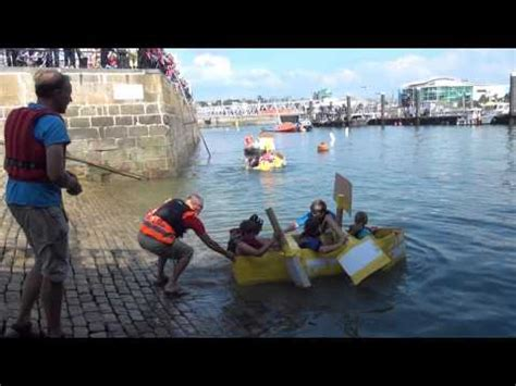cardboard boat race plymouth plymouth barbican cardboard boat race 19th september 2015