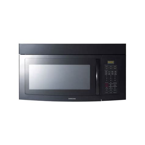samsung under cabinet microwave installation samsung smh1713b 1 7 cubic foot over the range microwave