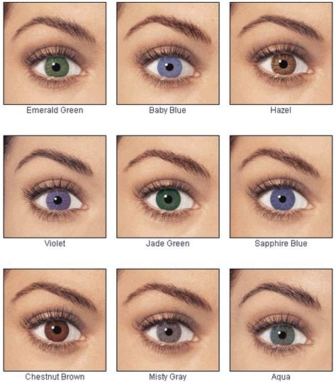 no prescription color contacts 9 best colored contacts images on contact