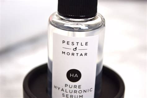 Pestle And Mortar Hyaluronic Serum pestle and mortar hyaluronic serum review sprinkles of style