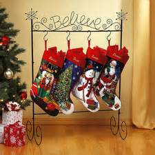 Stocking holder stockings believe metal stocking holder christmas