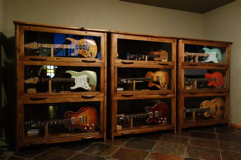 Guitar And Cabinet by Sundance Guitar Cabinet