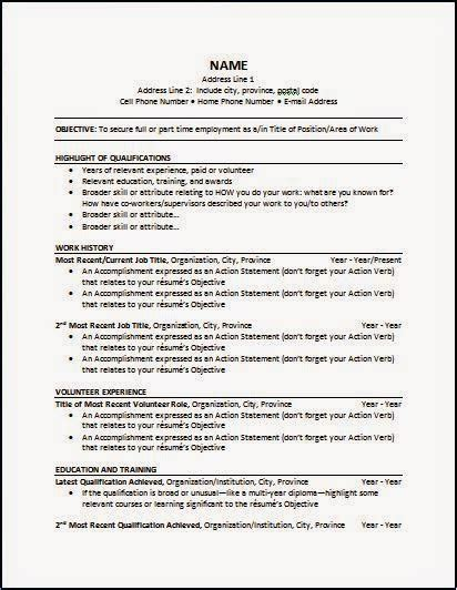 Resume Format Non Chronological Certified Nursing Assistant S 3 Different Resume Types For Nursing