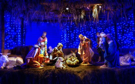 christmas wallpaper nativity scene christmas nativity scene wallpapers free computer