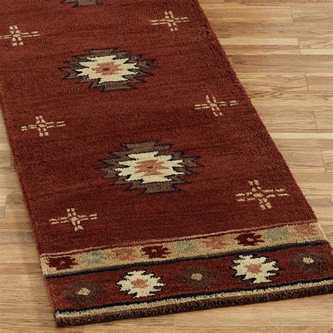 southwestern runner rugs southwest wool rug runners