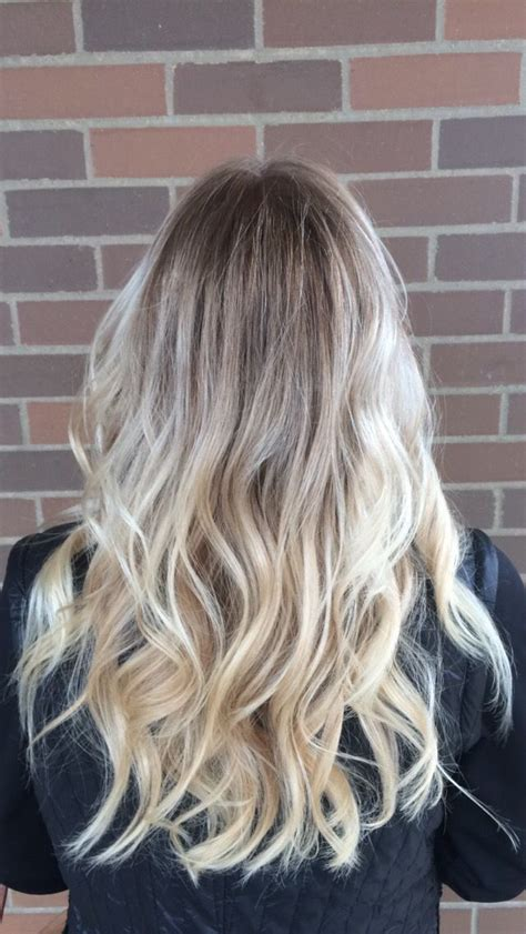 perfect shadow root on blonde hair top 25 ideas about shadow root on pinterest silver hair