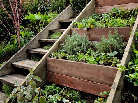 Herb Pots Outdoor smart easy ideas for hillside landscaping hgtv s