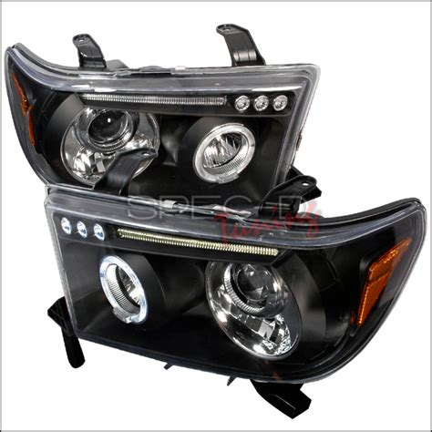 Fogl Toyota Landcruiser 2008 2011 Projector 2007 2010 toyota sequoia led halo projector headlights