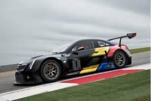 Cadillac Race 2016 Cadillac Ats V Coupe Spawns Gt3 Spec Race Car