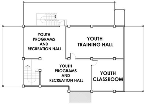 Youth Center Floor Plans by Help Fund Community Centers In Daraga Philippines Floor