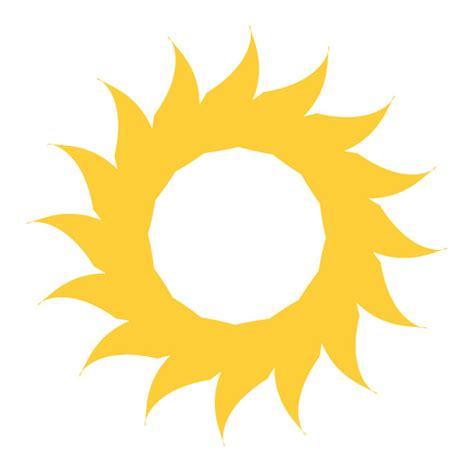 pattern sunshine by color shape design sun vector shape for logo design download at vectorportal