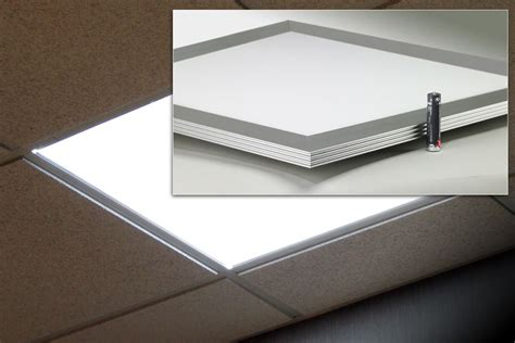 Lu Downlight Led Panel new flat panel downlights from glt offers efficient