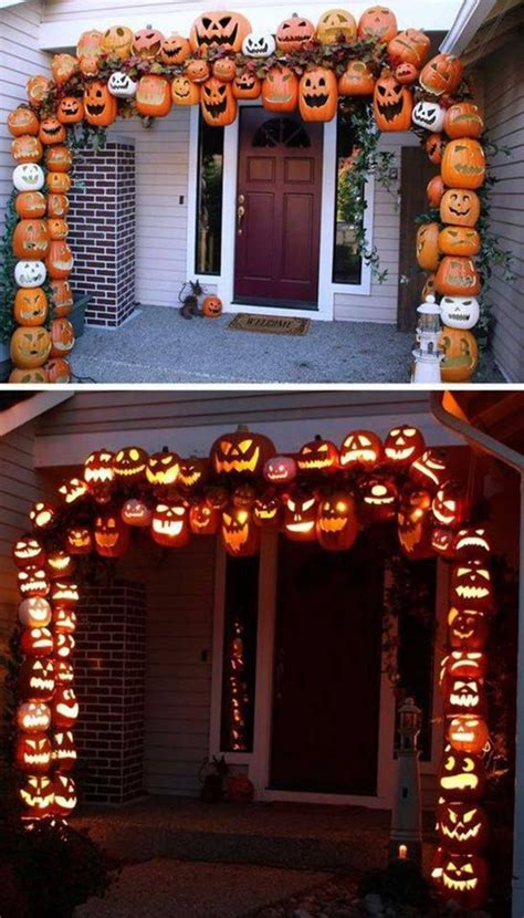 halloween decoration ideas to make at home 40 homemade halloween decorations kitchen fun with my