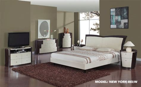 new york bedroom set global furniture new york glossy beige wenge bedroom set