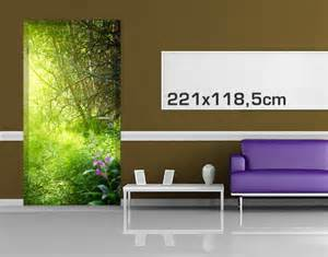 Self Adhesive Wall Murals Door Photo Wall Mural Magic Forest Wallpaper Motif Murals