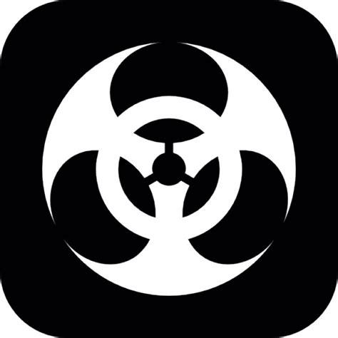 imagenes de simbolos biologicos symbole de danger biologique sur fond carr 233 t 233 l 233 charger