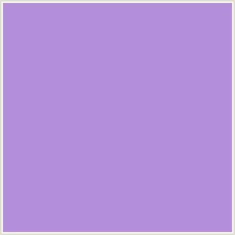 #b48fd9 hex color   rgb: 180, 143, 217   light wisteria