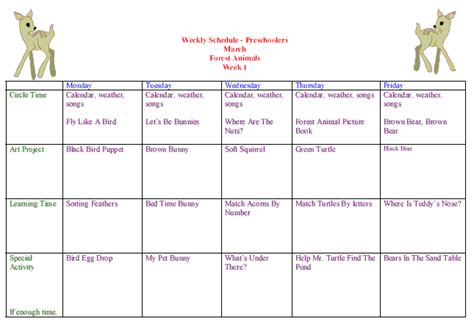 kindergarten themes march preschool curriculum weekly calendars lessons themes
