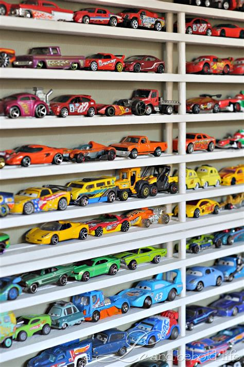 Shoe Rack For Car by Diy Matchbox Car Garage Updated A Lo And Behold