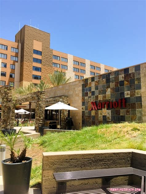 the los angeles marriott burbank airport hotel from the
