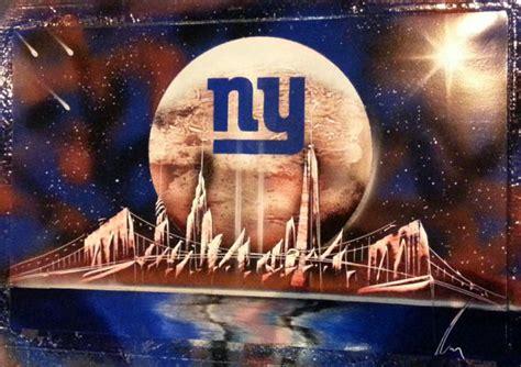 new york artist spray paint items similar to new york giants spray paint space