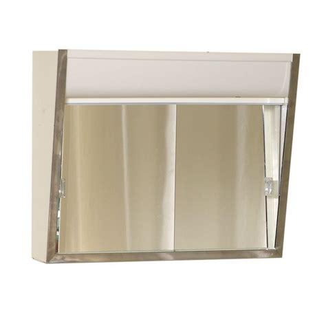 Medicine Cabinet Mirror Door Replacement by Zenith Lighted 24 In W X 19 1 2 In H X 7 2 5 In D
