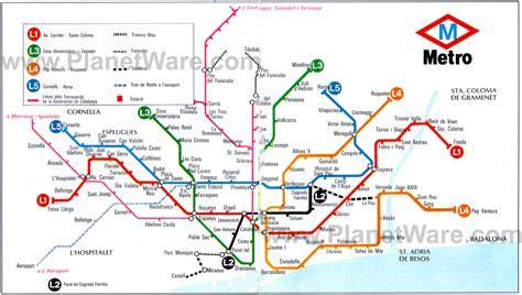 barcelona metro map barcelona underground map