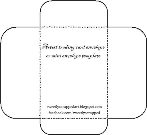 mini envelope for 3 inch card template sweetly scrapped manilla envelope template and an idea