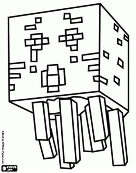 minecraft coloring pages ghast ghast from minecraft a creature resembling a jellyfish