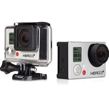 gopro hero3+ silver edition camera at rei