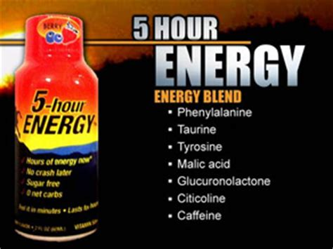 5 hour energy drink side effects small drinks promise big energy but experts say effects