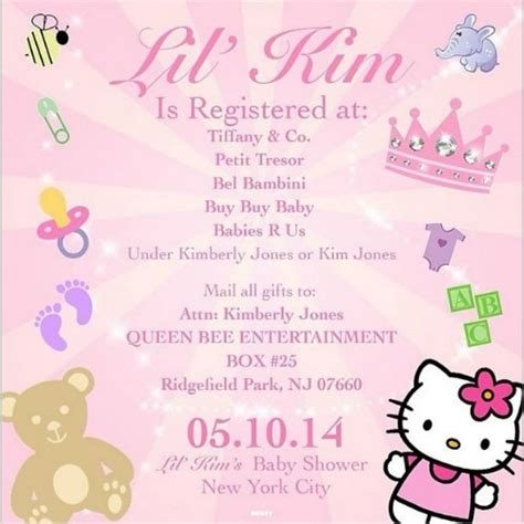 Things To Put On Baby Shower Registry by Lil S Baby Shower Registry Info Is On Instagram What