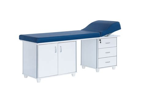 examination couch with drawers schroder schroder tr hospital beds hospital