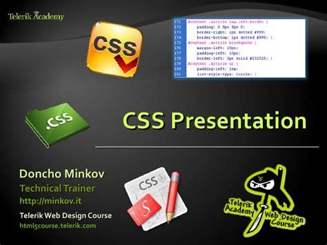 css layout ppt css presentation