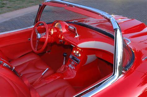 how to fix cars 1962 chevrolet corvette interior lighting 1962 chevrolet corvette convertible resto mod 66207