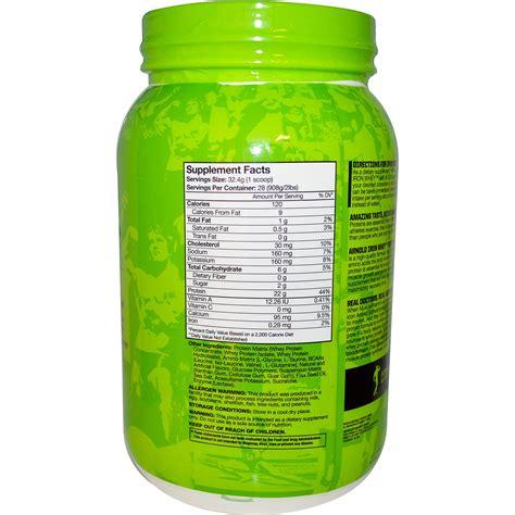 Arnold Whey Arnold Iron Whey Protein Vanilla 2 Lbs 908 G Iherb