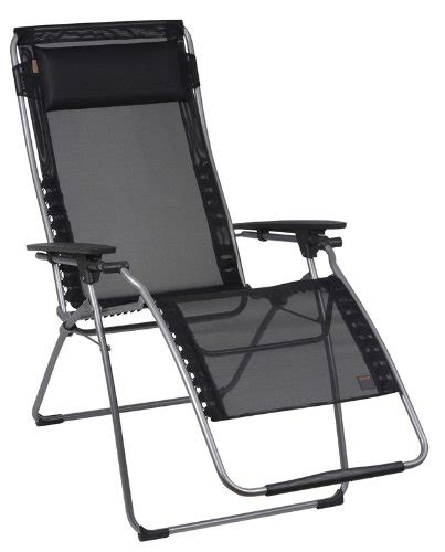 Xl Zero Gravity Recliner Lafuma Futura Xl Zero Gravity Chair Black Iso Batyline Fabric