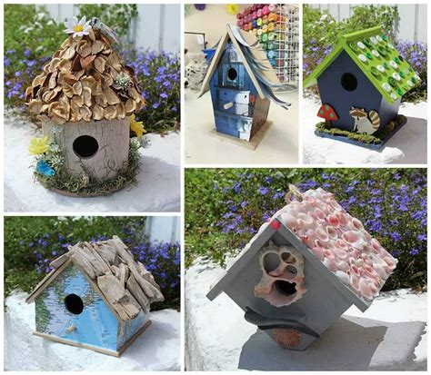 crafts for adults images birdhouse crafts 5 ways to create a birdhouse you will