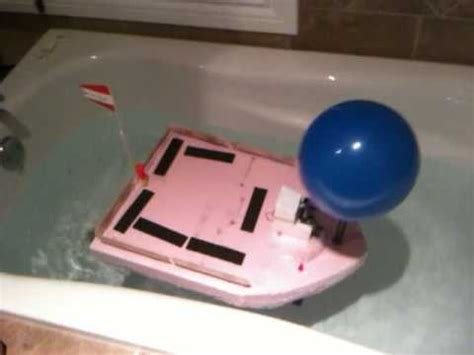 how to build a boat middle school project jared s air powered foam boat class boat project youtube