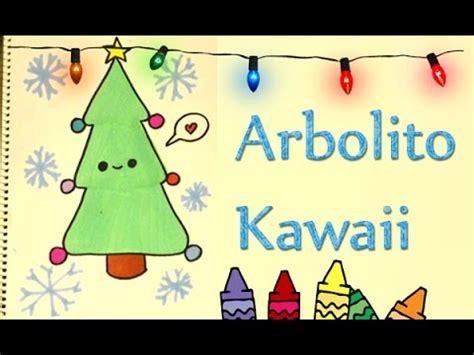 imagenes de arboles de navidad kawaii dibuja un pino kawaii navide 241 o arbolito de navidad dibujar