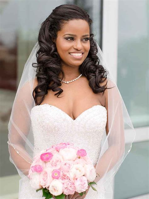 16 curly wedding hairstyles for and hair